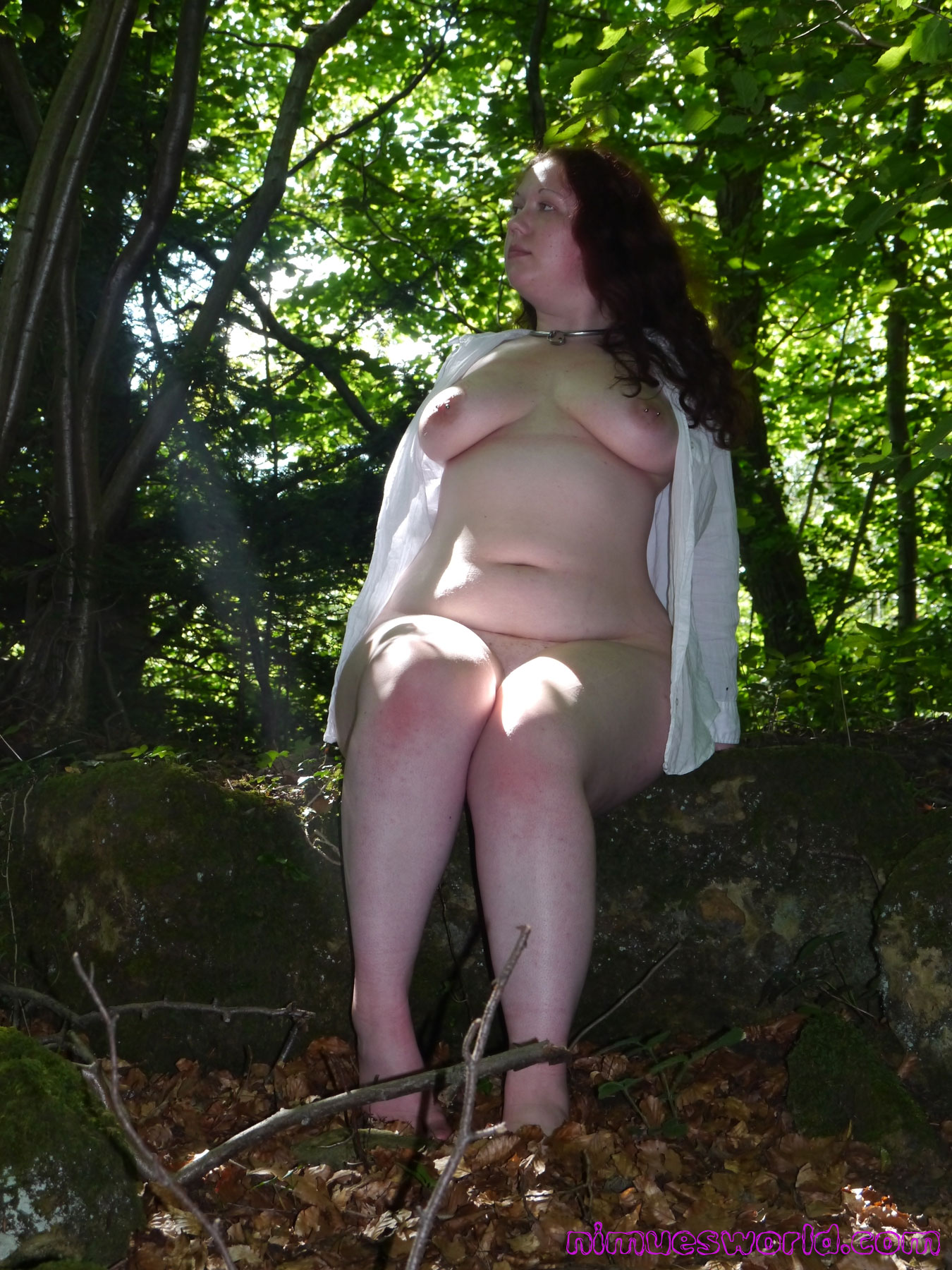 Nude outdoors chubby you were
